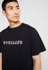 Soulland - ESKILD - T-shirt print - black - 5