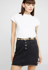 Topshop - SKINNY TIGER - Belt - multi-coloured - 1