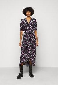 The Kooples - DRESS - Day dress - black/pink - 0