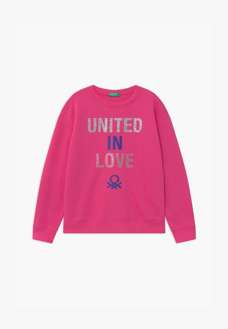 Benetton - BASIC GIRL - Sweatshirt - pink