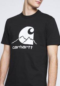 Carhartt WIP - OUTDOOR  - Print T-shirt - black/white - 5