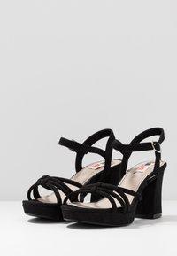 mtng - VOLGA - High heeled sandals - black - 4