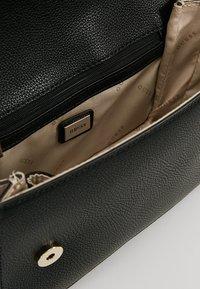 Guess - ANALISE CROSSBODY FLAP - Handbag - white - 4