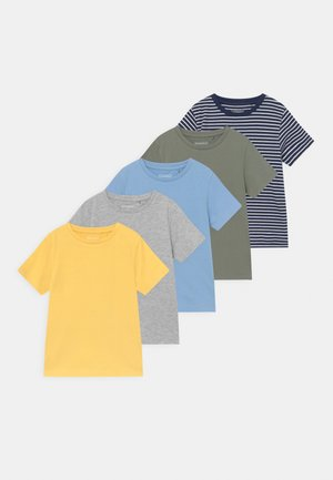 BOYS KID 5 PACK  - Print T-shirt - multi-coloured