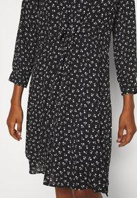 Selected Femme Tall - SLFDAMINA 7/8 DRESS - Hverdagskjoler - black - 5