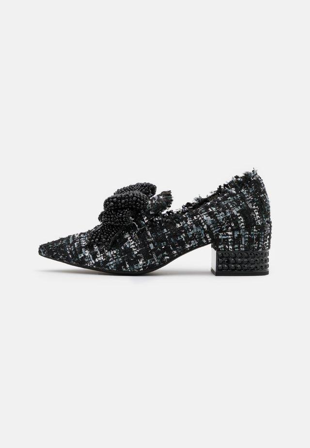 VALENSIA - Classic heels - black/silver