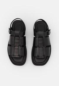 By Malene Birger - KLEVA - Platform sandals - black - 4