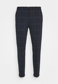 CROPPED - Chinos - navy blue