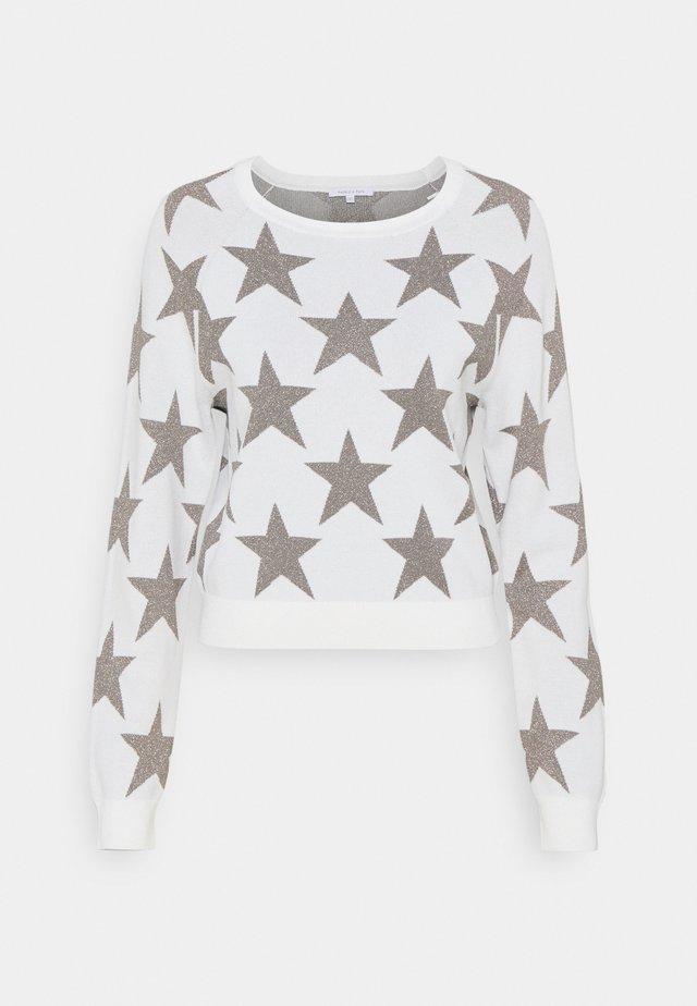 MAGLIA - Sweter - white/silver