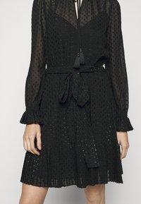 MICHAEL Michael Kors - TASSLE DRESS - Cocktail dress / Party dress - black - 6