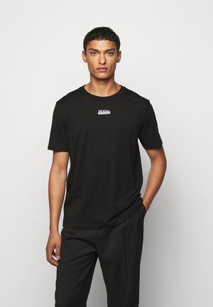 DURNED - Print T-shirt - black