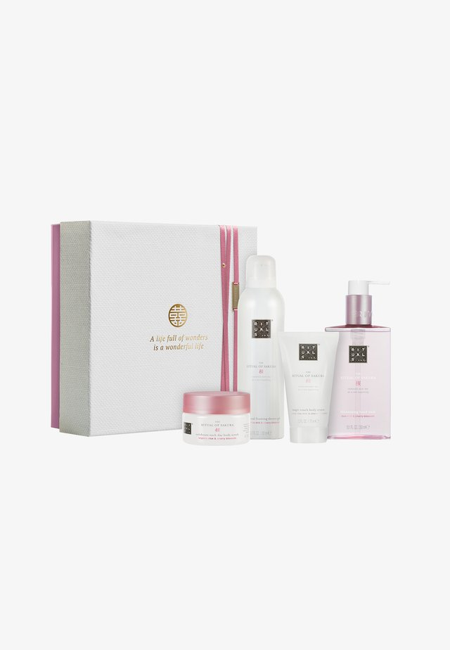 THE RITUAL OF SAKURA - RENEWING RITUAL 2019 GESCHENKSET MEDIUM - Bath and body set - -