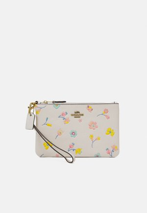 FLORAL PRINT SMALL WRISTLET - Clutch - chalk multi