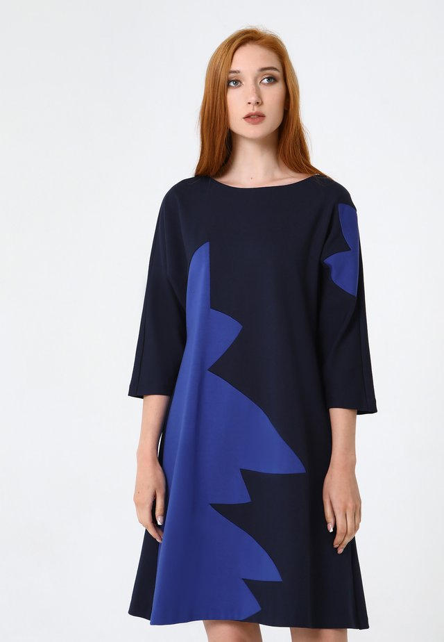 MARA - Day dress - blau, kornblumenblau