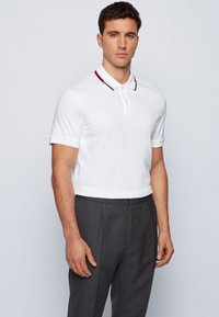 BOSS - PARLAY - Polo shirt - white - 0