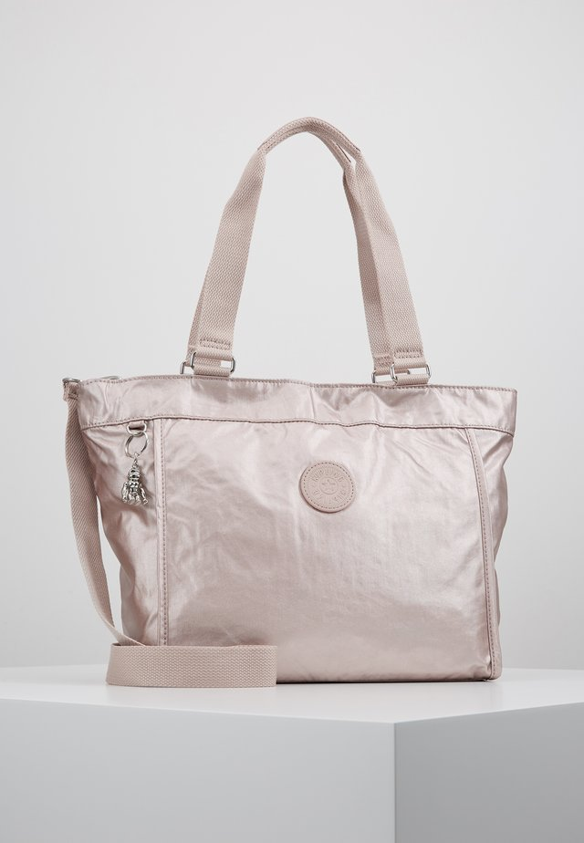 NEW SHOPPER S - Käsilaukku - metallic rose