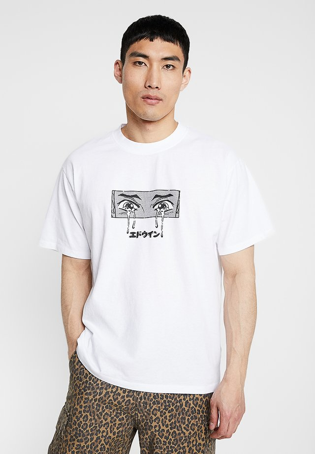 SAD - T-shirt print - white