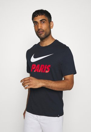 PARIS ST GERMAIN TEE GROUND - Club wear - dark obsidian