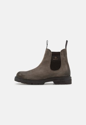 GRETTY - Classic ankle boots - taupe/dark brown