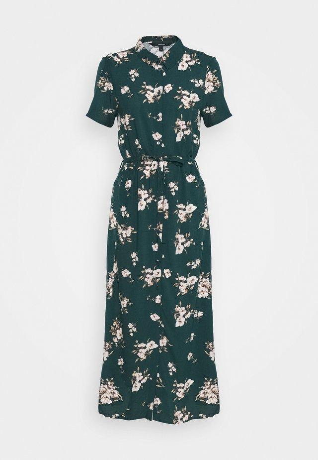 VMSIMPLY EASY LONG SHIRT DRESS - Blousejurk - ponderosa pine