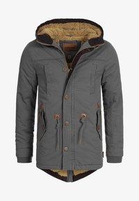 INDICODE JEANS - Winter coat - dark grey - 6