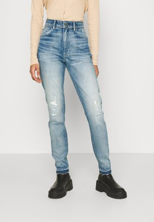 KAFEY ULTRA HIGH SKINNY ANKLE - Jeans Skinny Fit - vintage cool aqua