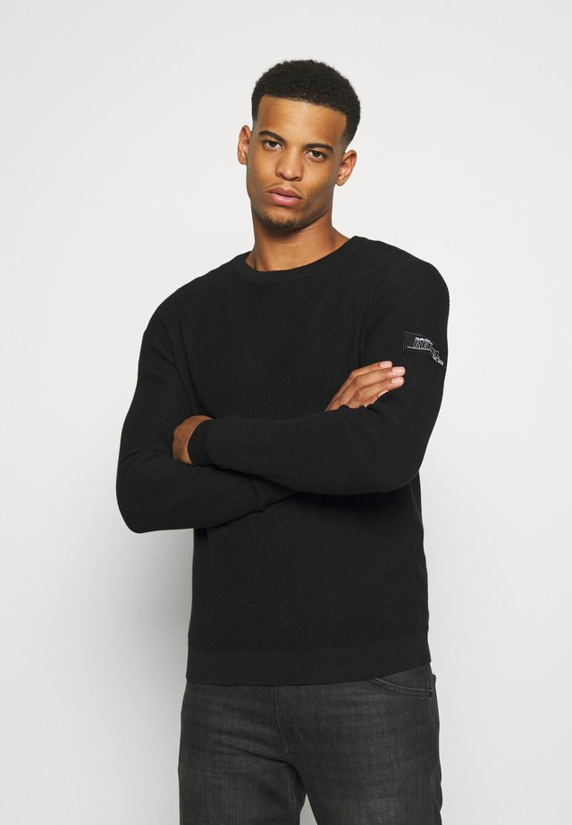 BEAR - Pullover - black