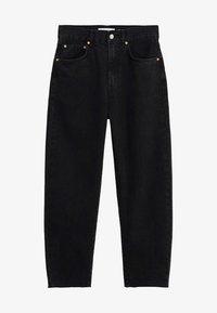 VILLAGE - Relaxed fit jeans - black denim