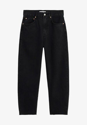 VILLAGE - Straight leg jeans - black denim