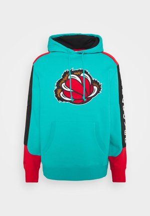 NBA VANCOUVER GRIZZLIES FUSION HOODY - Article de supporter - green/grizzlies teal