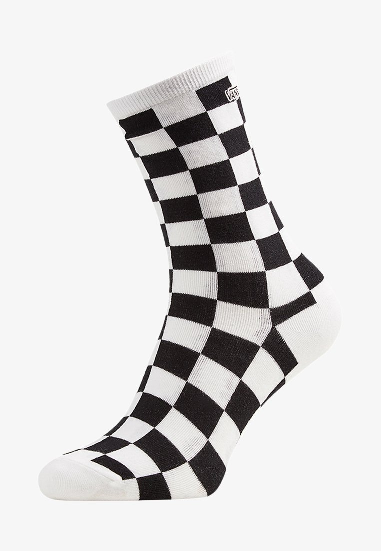 Vans - WM TICKER SOCK (6.5-10, 1PK) - Socks - black checkerboard