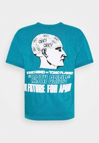 Obey Clothing - EARTH CRISIS - Print T-shirt - turquoise - 1