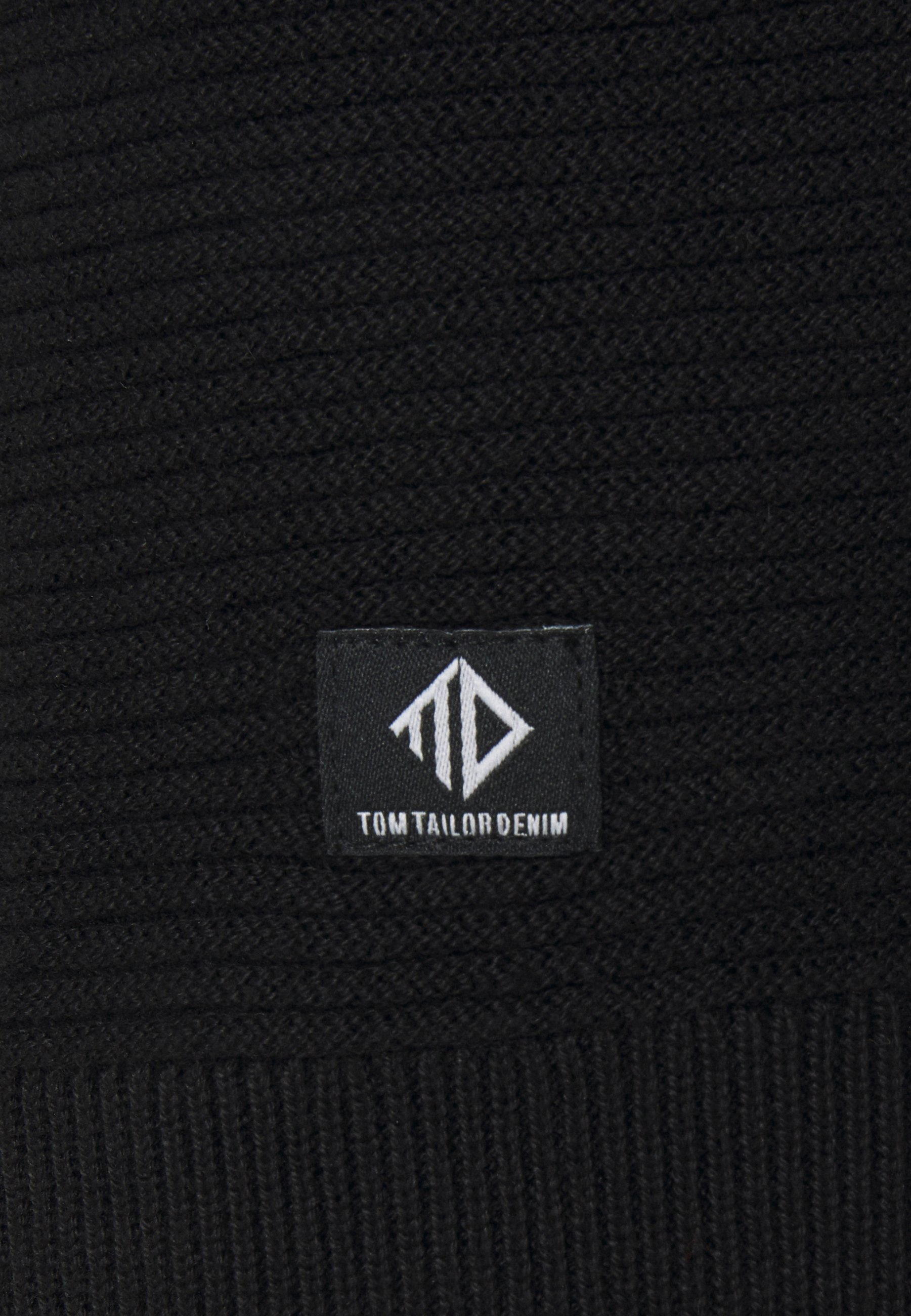 Tom Tailor Denim Sweatshirt - Black