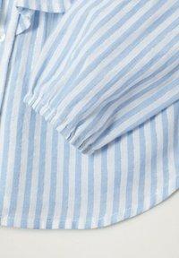 Mango - VOLANT RIGHE - Overhemd - bianco sporco - 2