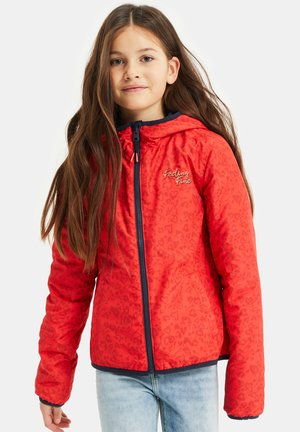 DUFF VELAN REVERSIBLE - Light jacket - light red