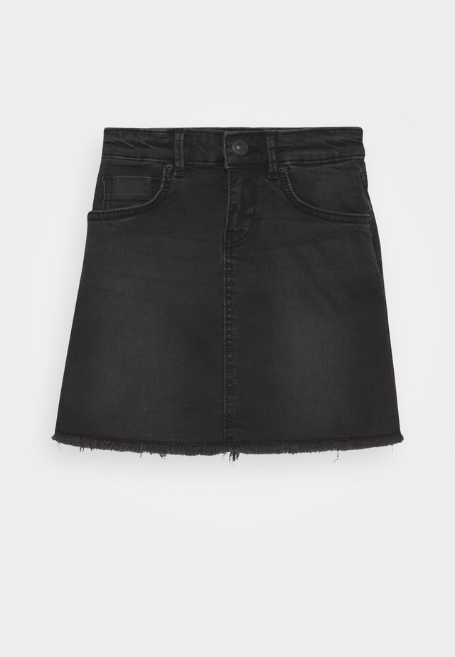 LIME - Denimová sukně - ramira wash