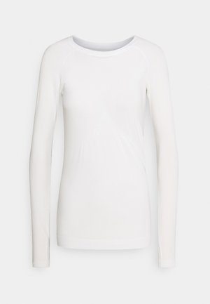 GLISTEN WORKOUT - Long sleeved top - white