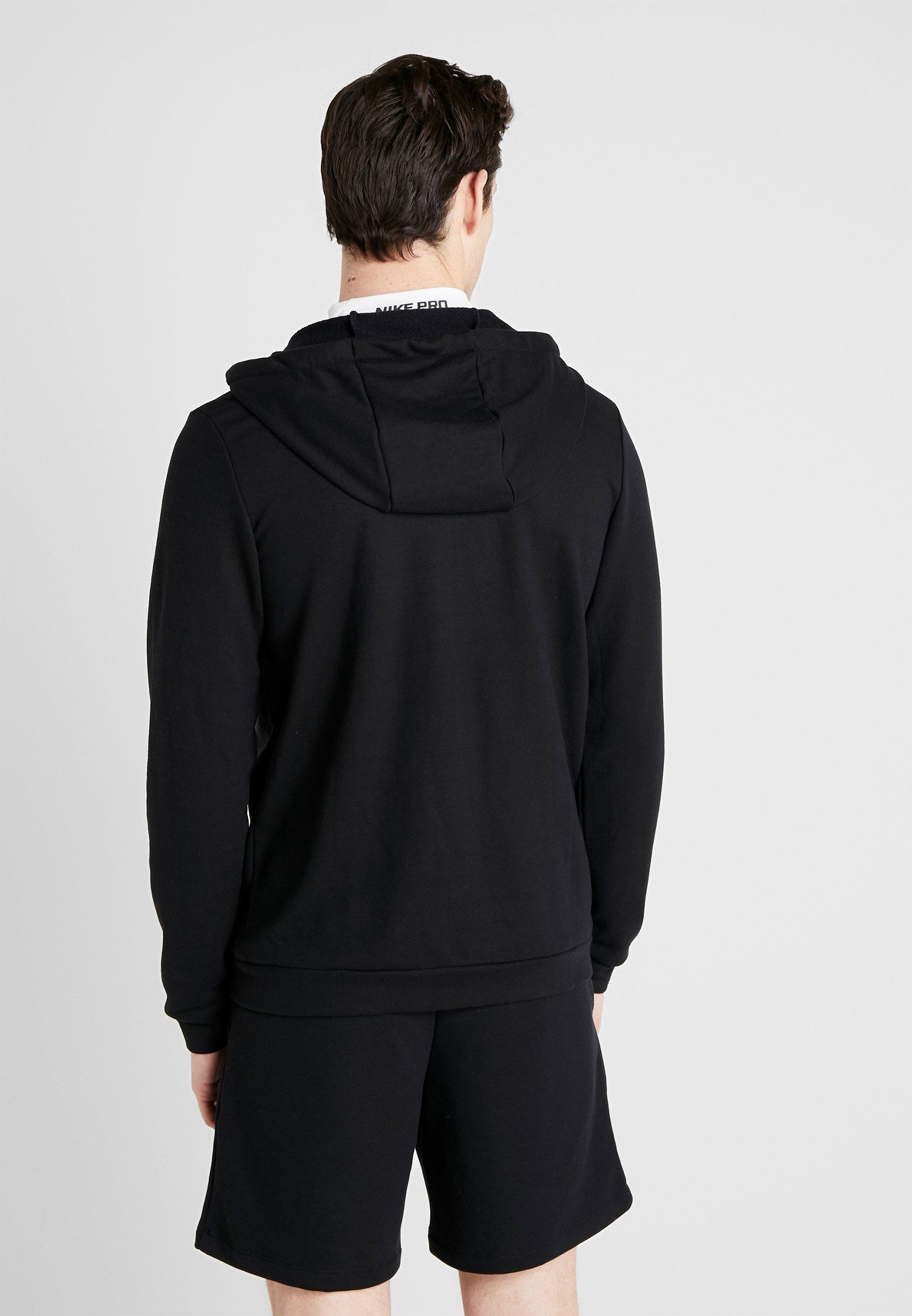 Recommend Discount Good Service Men's Clothing Nike Performance DRY HOODIE  Zip-up hoodie black/white u7KJjt3Fc wPZFNsrCQ