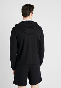 Nike Performance - DRY HOODIE  - Sudadera con cremallera - black/white - 2