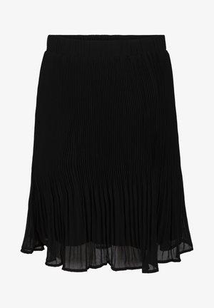 RIKKA - A-line skirt - black