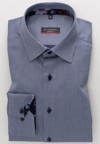 Eterna - MODERN FIT - Shirt - marine blau - 4
