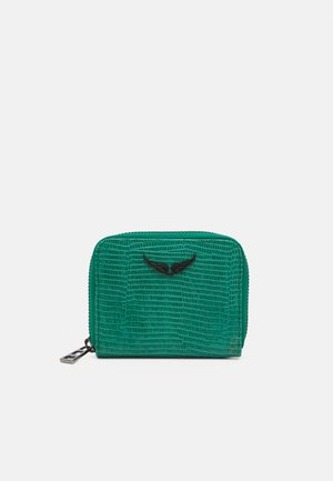 MINI EMBOSSE - Peněženka - green