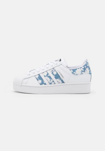 SUPERSTAR BOLD  - Joggesko - footwear white/ambient sky/silver metallic