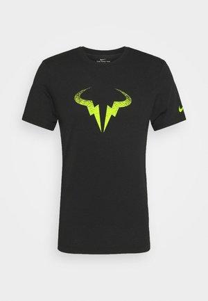 RAFAEL NADAL - Print T-shirt - black/volt