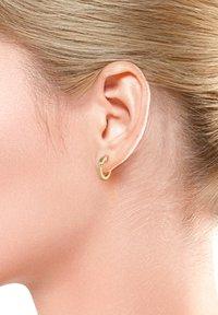 DIAMORE - CREOLE - Earrings - gold-coloured - 1