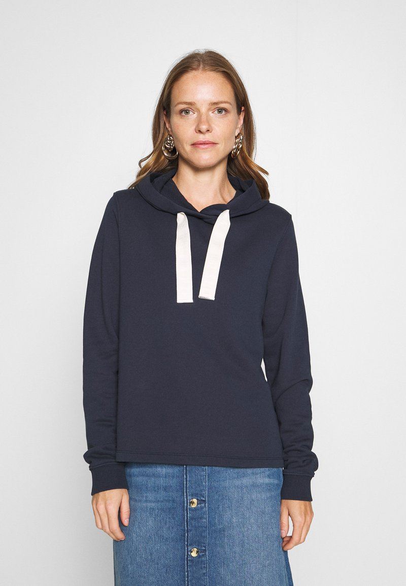 Marc O'Polo - HOODEY - Hoodie - dark night