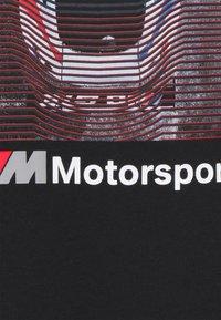 Puma - BMW GRAPHIC TEE - T-shirt con stampa - black - 2
