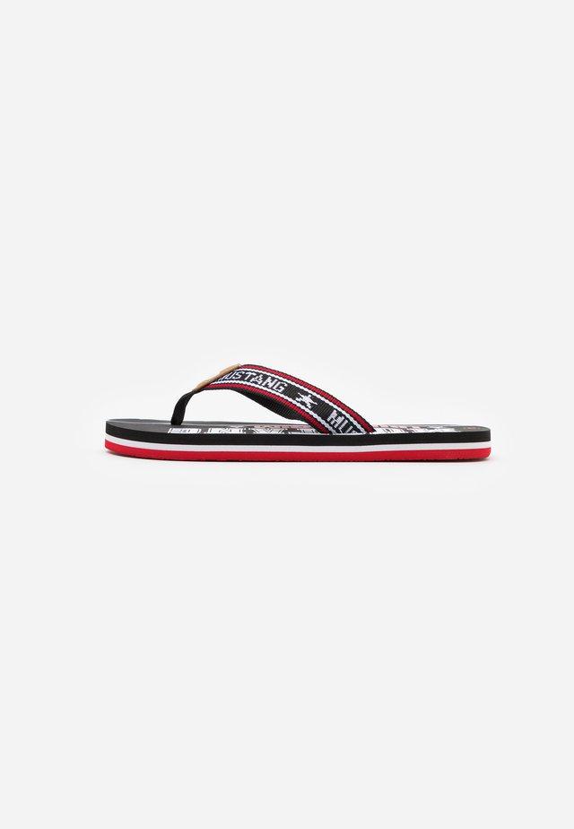 Sandály s odděleným palcem - schwarz