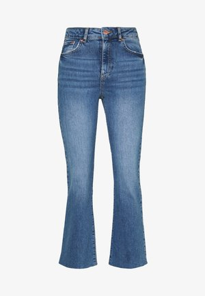 YLVA KICKFLARE  - Flared jeans - blue denim
