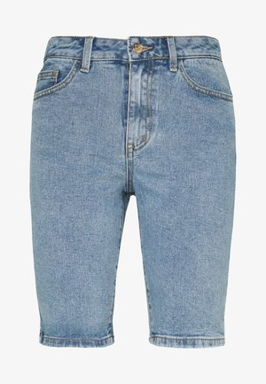 OBJMARINA  - Denim shorts - light blue denim